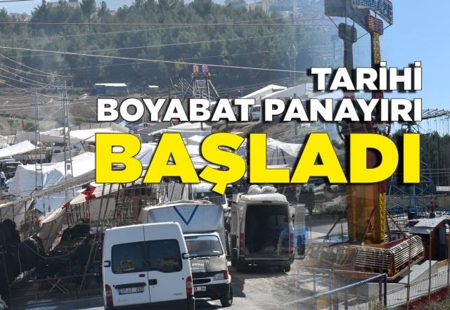 Tarihi Boyabat Panayırı Başladı   Tarihi asırlar öncesine dayanan geleneksel Boyabat Panayır'ı 16 Ekim 2019 Çarşamba günü başladı.