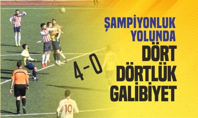 Boyabat 1868 Spor Ezdi Geçti  03.02.2019 Pazar günü Sinop Amatör Küme maçında Boyabat 1868 Spor rakibi Türkeli Belediye Esnafspor'u kendi sahasında net bir skorla 4-0 yenerek şampiyonluğun en büyük favorisi olduğunu gösterdi.  Boyat Daylı Stadı'nda oynanan maç saat 13:30'da başladı.İlk dakikalarda baskılı oyun oynayan Boyabat 1868 Spor 21.Dakikada Ekrem'in attığı golle 1-0 öne geçti.Golün şokunu erken atlatan Türkeli Belediye Esnafspor oyun olarak durumu dengeledi ve üst üste pozisyon üretmeye başladı.    Bu pozisyonlarda kalesinde devleşen Boyabat 1868 Spor kalecisi Servet rakip takım futbolcularına geçit vermedi.Toparlanan Boyabat 1868 Spor üst üste pozisyonlara girdi ve 79.Dakikada Cihad Coci'nin attığı golle farkı 2'ye çıkardı.Farkın 2 'ye çıkmasının ardından oyundan düşen Türkeli Belediye Esnafspor karşısında 86.Dakikada Furkan Menteş ve 89.Dakikada Yasin Aktaş'ın attığ gollerle 2 gol daha bulan Boyabat 1868 Spor zorlu maçı 4-0 kazanarak liderliğini sürdürdü.    Maçı kalabalık taraftar kitlesi takip ederken Belediye Başkanı Şefik Çakıcı ve İlçe Emniyet Müdürü Mustafa Gülcü'de  maçı izleyenler arasındaydı.  -Haber Merkezi