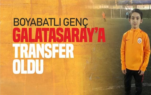 Boyabat'tan Galatasaray'a Transfer Oldu  Boyabat'ın tanınan simalarından Hamza Kolazlı'nın oğlu Abdullah Kolazlı Galasaray Kulübüne transfer oldu.  İstanbul Bafraspor'un oyuncusu olan 2008 doğumlu Abdullah Kolazlı gösterdiği performans ile büyük takımların radarına girerek büyük başarı sağladı.Bu aşamada elini çabuk tutan Galatasaray genç yetenek Boyabatlı Abdullah'ı kadrosuna kattı.