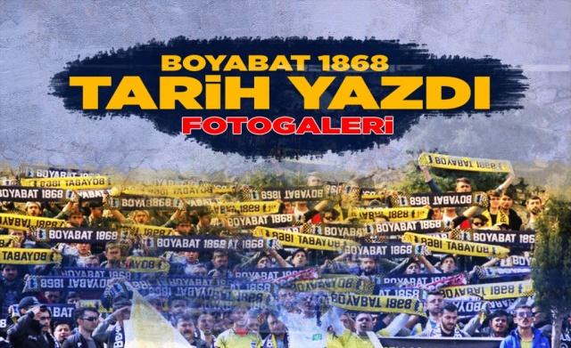 Bu dönem içerisinde kurulan ve Sinop 1.Amatör Küme Ligini namağlup tamamlayarak Şampiyon olan Boyabat 1868 Spor,Bölgesel Amatör  Lig'e yükselme mücadelesinde Sinopspor'u devirerek tarih yazdı.  İşte Sinopspor zaferi sonrası objektiflere yansıyanlar...