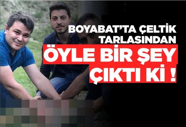 20.05.2019 Pazartesi günü  Boyabat'ta Çeltik üreticileri tarlada buldukları elik yavrusunu Boyabat Orman İşletme Müdürlüğü ekiplerine teslim ettiler.