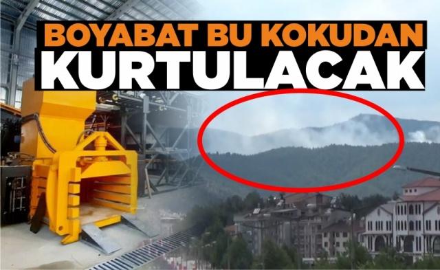 Boyabat bu kokudan kurtulacak !  Kış aylarının gelmesi ile birlikte Çevre ve Şehircilik Bakanlığı Hava Kalitesi İndeksi raporlarında sağlıksız olarak görülen  Sinop'un Boyabat ilçesinde çöplükten gelen kokularda vatandaşları rahatsız ediyor.
