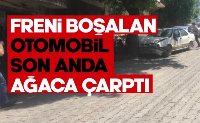08.06.2020 Pazartesi günü Boyabat'ta meydana gelen kaza sonucunda bir otomobilde maddi hasar meydana geldi.