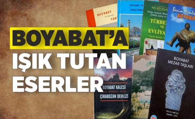 Sinop ve çevresinde yazılmış,bölgenin tarihi ve kültürüne ışık tutan eserler.