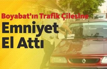 Boyabat'ın Trafik Çilesine Emniyet'ten Çözüm