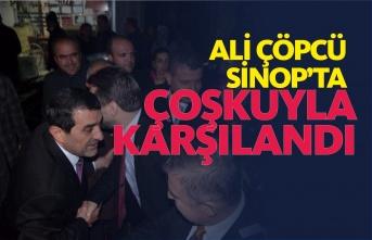 Ak Parti Teşkilatı Ali Çöpcü'yü Coşkuyla Karşıladı