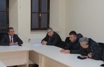 Boyabat İlçe Milli Eğitim Müdürü Osman Özkan Beden Eğitimi Öğretmenleri İle Toplantı Gerçekleştirdi