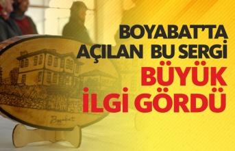 Boyabat'ta Osmanlı Kültürü Temalı Sergi Açıldı