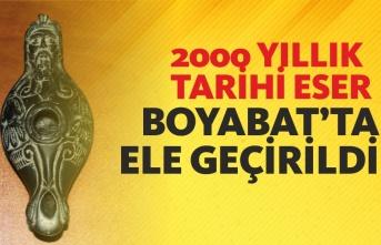 Boyabat'ta Tarihi Eser Operasyonu