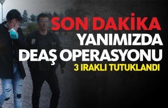 Kastamonu'da DEAŞ Operasyonu : 3 kişi tutuklandı