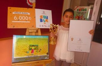 Türkiye Birincisi Nimet Biçer Ödülünü Aldı