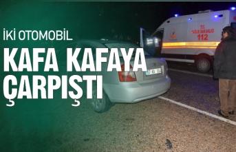 Sinop'ta iki otomobil çarpıştı: 7 yaralı