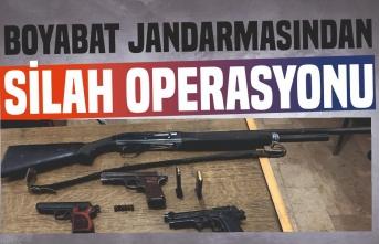 Boyabat Jandarması'ndan Silah Operasyonu; 1 Tutuklama