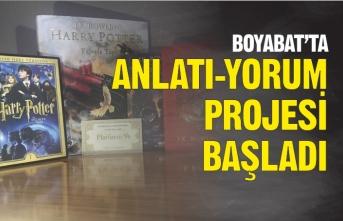 """Boyabat'ta """"Anlatı-Yorum"""" Projesi Başladı"""
