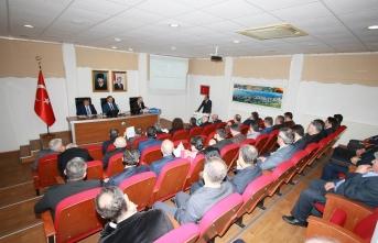 Sinop'ta İl Koordinasyon Kurulu toplantısı yapıldı