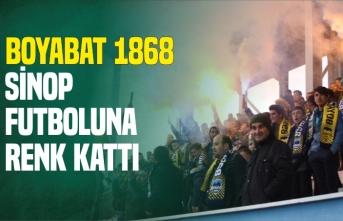 Boyabat 1868, Sinop Futboluna Renk Kattı...