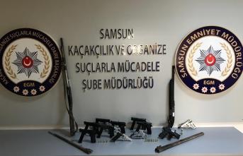 Sinop'tasilah kaçakçılığı operasyonu: 4 gözaltı