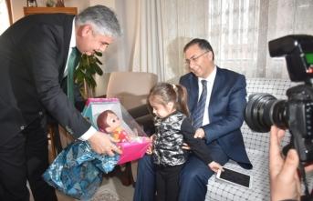 Sinop Valisi Şakalar, Boyabat İlçesinde Ziyaretlerde Bulundu