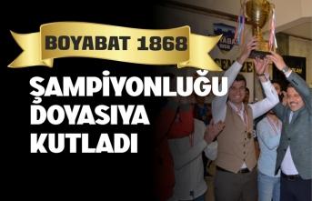 Boyabat Şampiyonluğu Doyasıya Kutladı