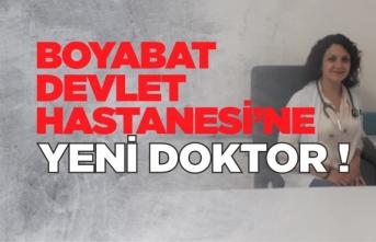 Boyabat Devlet Hastanesi'ne Yeni Doktor