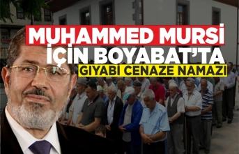 Boyabat'ta Mursi İçin Gıyabi Cenaze Namazı Kılındı