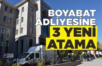 Boyabat'ta Yeni Hakim ve Savcılar Göreve Başladı