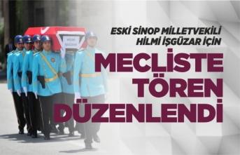 Sinop Eski Milletvekili İçin Mecliste Tören