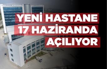 Sinop'ta Yeni Hastane Pazartesi Günü Açılıyor