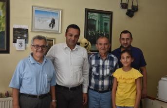 Barış Karadeniz Gazetemizi Ziyaret Etti