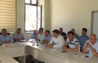 Boyabat'ta Sene Sonu Müdürler Toplantısı Yapıldı