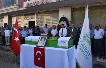 Boyabat Eski Belediye Başkanı Cemal Ekiz için tören düzenlendi