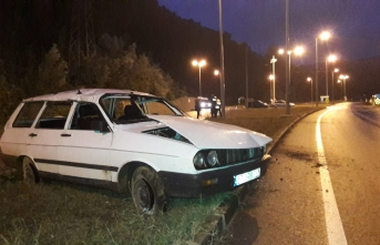 MHP İlçe Başkanı kazada yaralandı