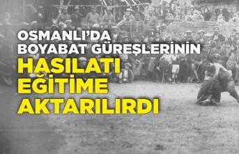 Osmanlı'da Boyabat Güreşlerinin Hasılatı Eğitime Aktarılırdı