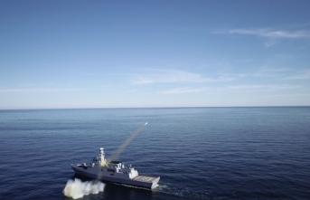 ATMACA Güdümlü Mermisi Sinop'tan başarıyla atıldı