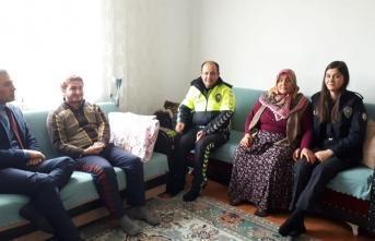 Boyabat Emniyet Müdürlüğü'nden anlamlı ziyaret