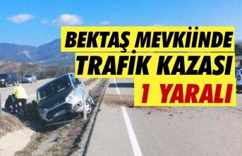 Boyabat'ta Bektaş Köyü mevkiinde kaza