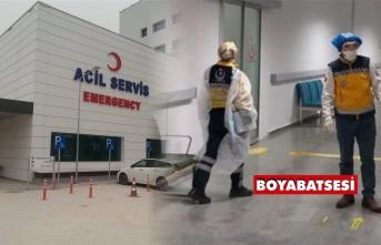 Boyabat'ta koronavirüs için önlem alınıyor
