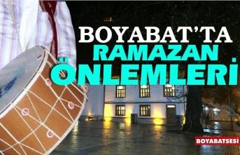 Boyabat'ta Ramazan ayı önlemleri açıklandı !