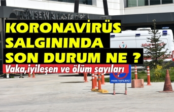 Sinop genelinde Covid 19 salgını son durum