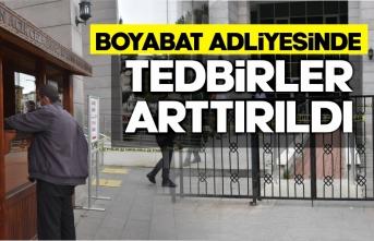 Boyabat Adliyesi Covid 19 önlemini aldı
