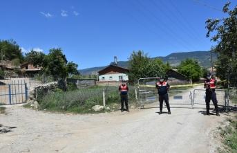 Jandarma Eğlenceköyünün giriş ve çıkışında güvenlik önlemleri aldı