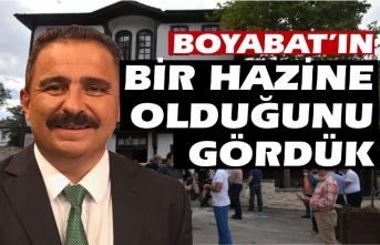 AYD Başkanı Sinan Burhan '' Boyabat'ın keşfedilmemiş bir hazine olduğunu gördük''