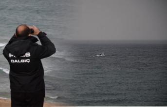 """""""Tekne batıyor"""" ihbarı polisi alarma geçirdi"""