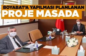 Nazım Maviş Gençlik ve Spor Bakanı ile görüştü