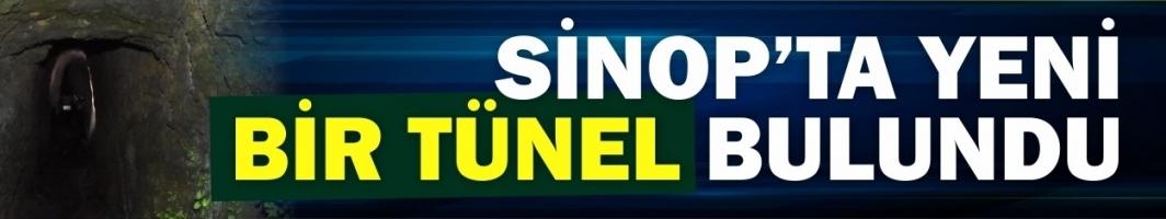 Sinop'ta gizemli bir tünel daha ortaya çıktı