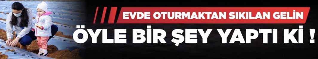 İstanbul'dan gelin geldiği köyde köylülerin umudu oldu