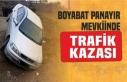 Boyabat Panayır Mevkinde Trafik Kazası