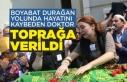 Boyabat Durağan Yolundaölen doktorun cenazesi...