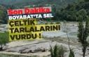Boyabat'ta Sel Çeltik Tarlalarını Vurdu