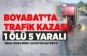 Boyabat Tekke Köyü'nde Trafik Kazası 1 Ölü...